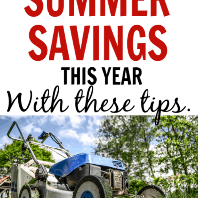Skyrocket your summer savings this year with these tips