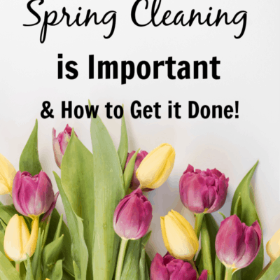 Get your spring cleaning done with a spring cleaning checklist