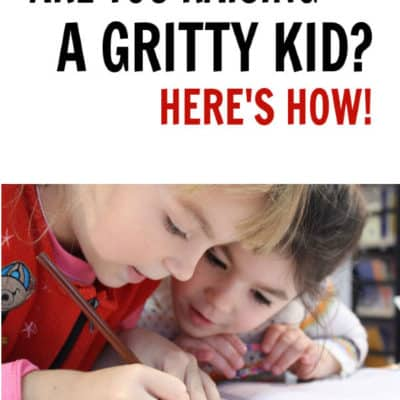 Are you raising a gritty kid? Here's how