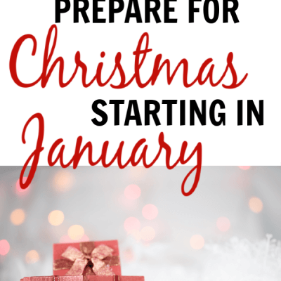 Why you should prepare for Christmas in January