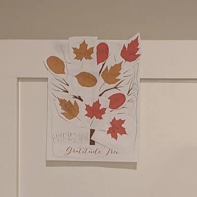 Free Printable Kids Gratitude Tree for Thanksgiving