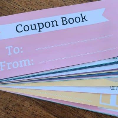 Free Printable Kids Coupon Book