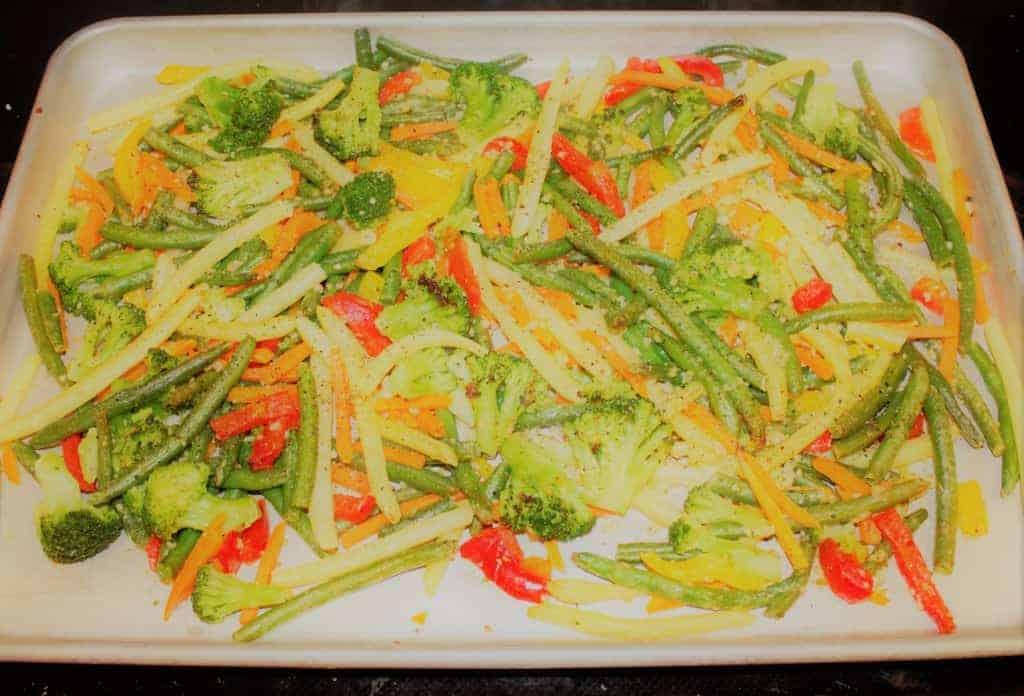 garlic roasted vegetables